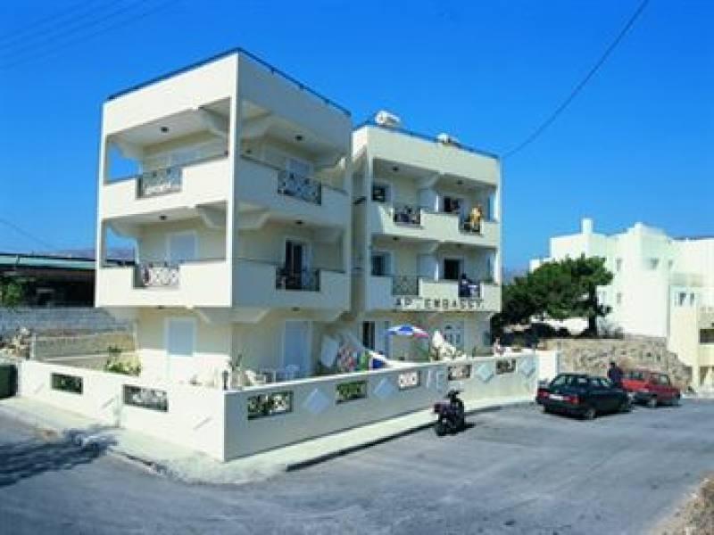 Appartementen Embassy - Pigadia - Karpathos